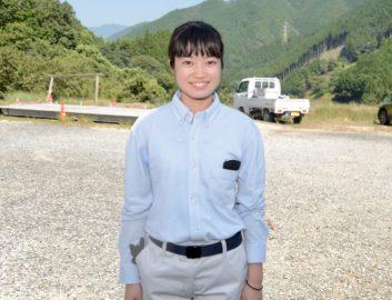 八代農業高校泉分校2年の森田叶幸さん